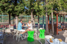 Camping Camp du Domaine Tennis Bar