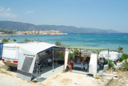 Vue Mer-Emplacement Tente