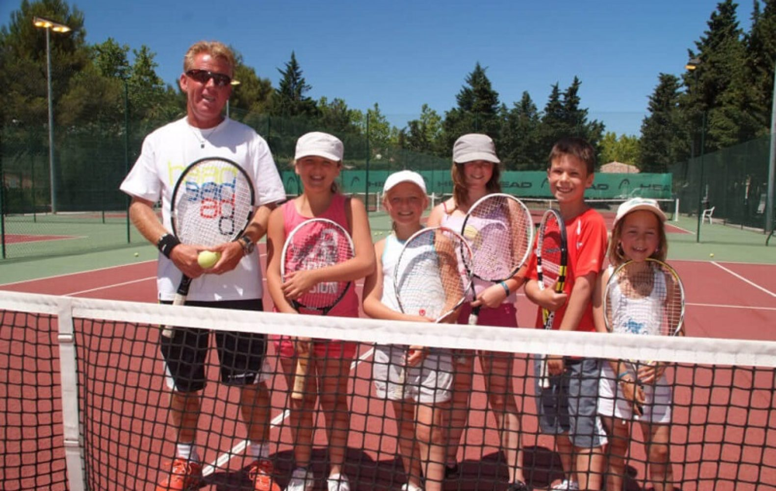 Animation-tennis-camp du domaine