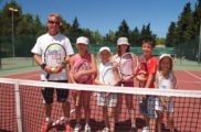 Cours de tennis avec Noel