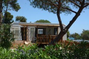 location-bungalow-mobil home-luxe-climatisation-var-vacances-camp du domaine