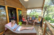 Terrasse Cabane Lodge