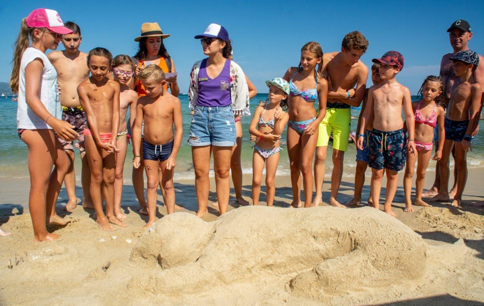 Chateaux de sable 12 Camp du Domaine