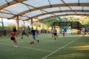 Football terrain couvert 5 Camp du Domaine