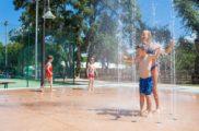 Jeux d'eau-Camp du Domaine