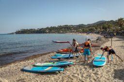 paddle-sport-plage-vacances-soleil-activité-sortie-camp du domaine