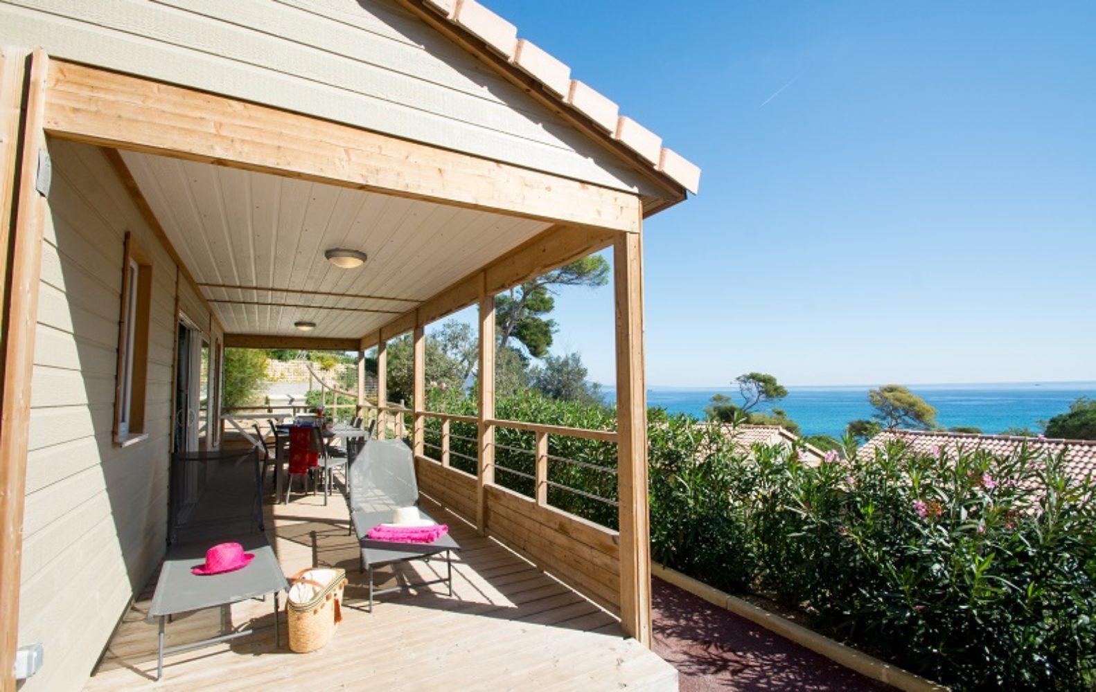 Terrasse avec vue sur la mer Zen