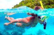 Snorkeling au départ du Camp du Domaine