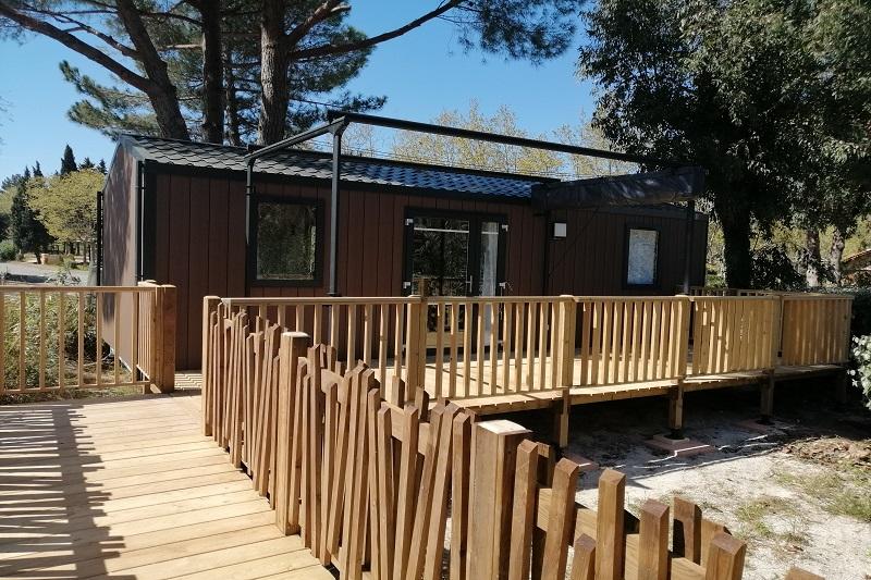 location_bungalow_mobilhome_bormes_cotedazur_camping_vue mer_luxe_confort_plage_soleil_camp du domaine